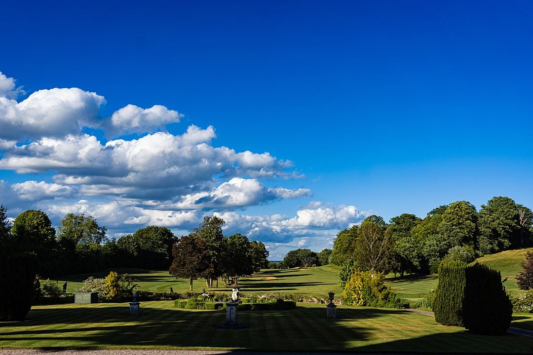 View from Moor Park Mansion